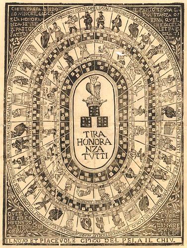 Il novo e piacevole gioco del pela il chiu (1700s)