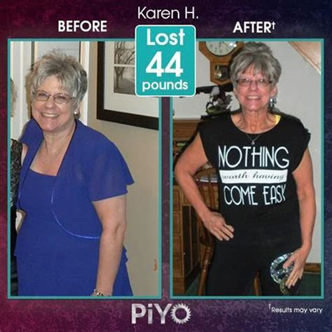 amazing results  piyo join   challenge group
