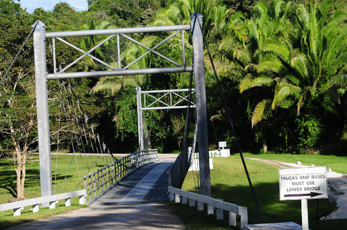 Chan Chich Bridge