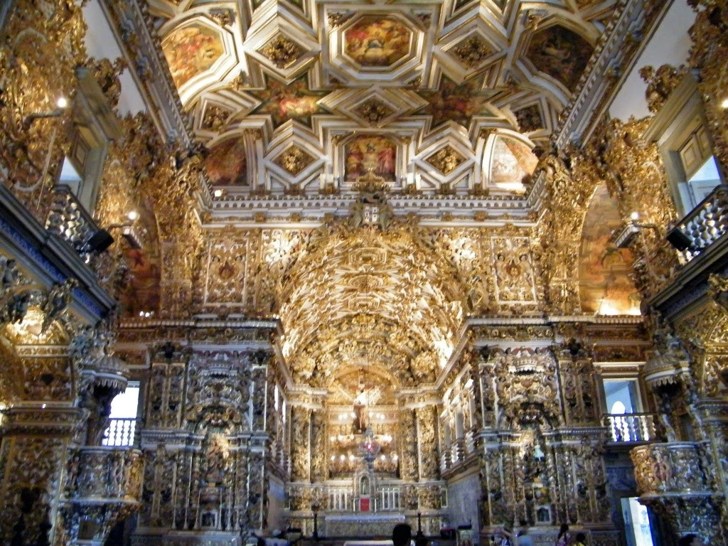 Igreja De Sao Francisco De Assis Esbanja Beleza Rara Em Salvador