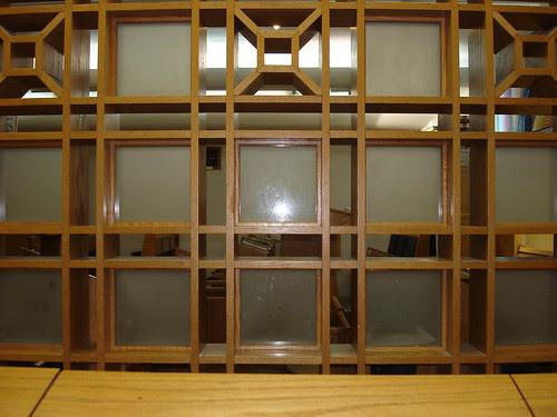 Peeking through the lattice