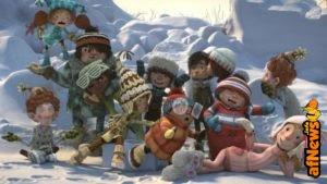 """Che la battaglia per il fortino abbia inizio: trailer e clip dal cartoon """"Snowtime!"""""""