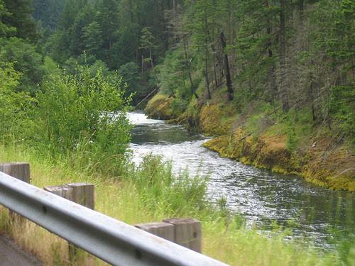 Clackamas River, Hwy 224