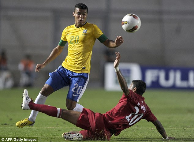 Switching allegiance: Rafinha switched from playing for Spain to play for Brazil