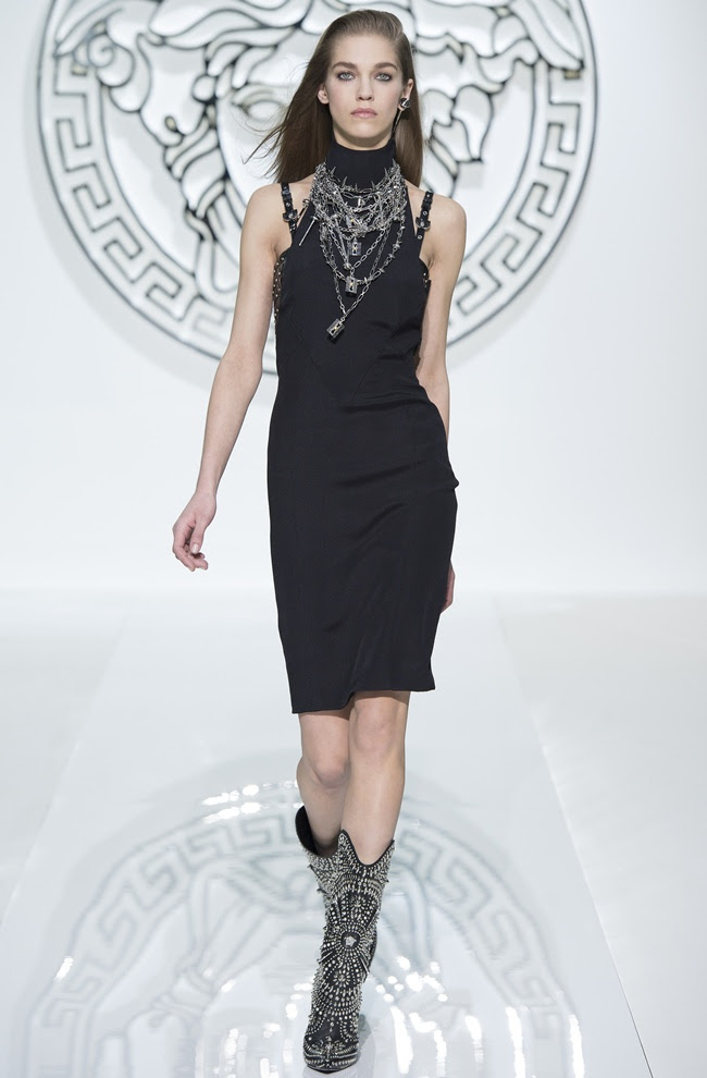 dress3 VERSACE Women's FW1314