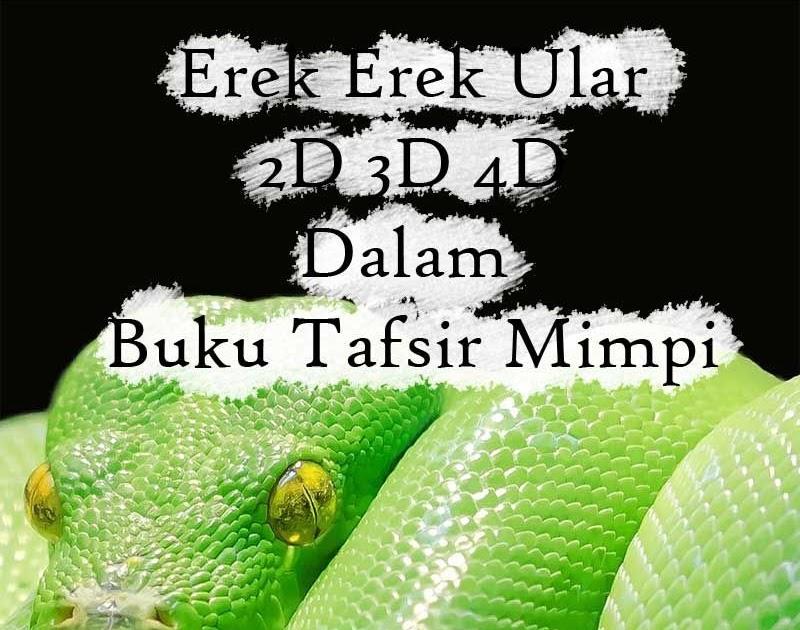 Mimpi ular sawah besar togel