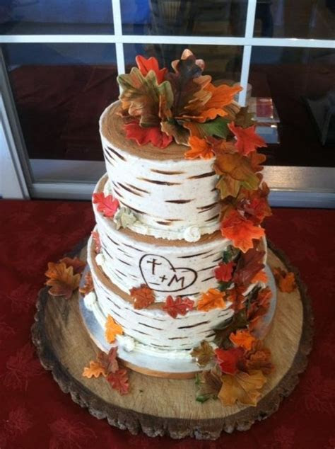 31 Cake Ideas For Fall Weddings