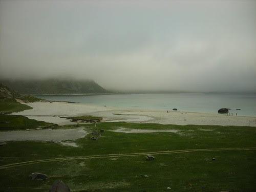 Haukland beach