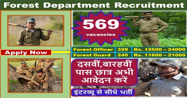 Forest Guard Recruitment