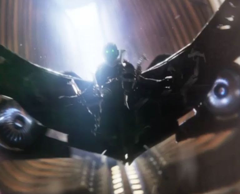 Vulture in Spider-Man Homecoming trailer