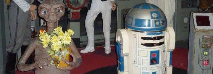 E.T. y R2-D2 en el Museo de Cera de Barcelona