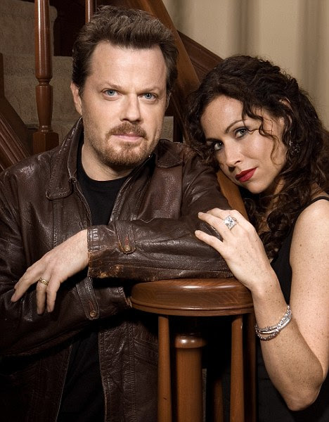 Screen star: Minnie had met the mystery man while appearing on series The Riches, alongside Eddie Izzard