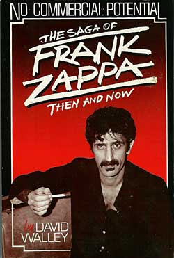 Cover of Walley's book on Frank Zappa