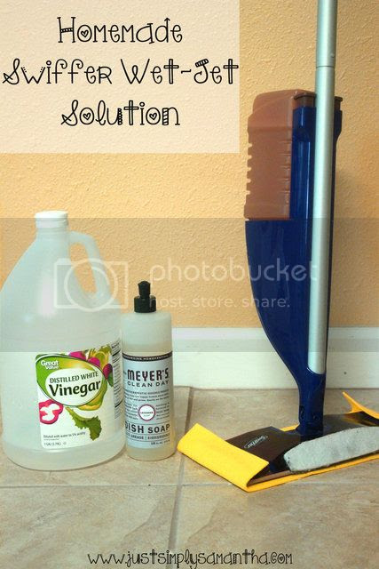 HomeMade Swiffer Wet-Jet Solution
