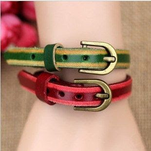 Fashion bracelets man punk band female bracelet with contracted style bracelet watch with a strap   Tophandmade - Jewelr
