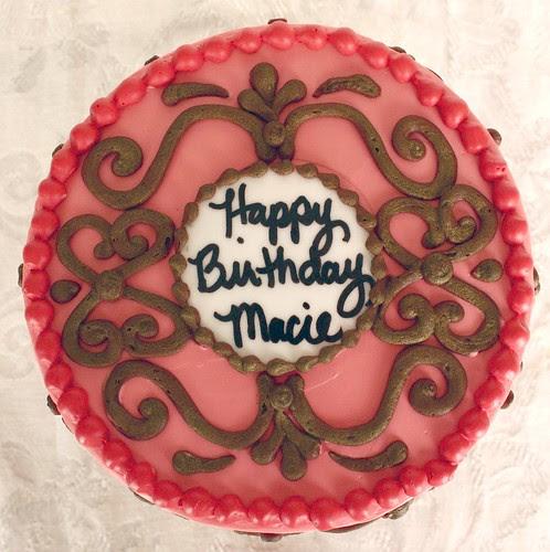 Macie's Birthday Cake - Top