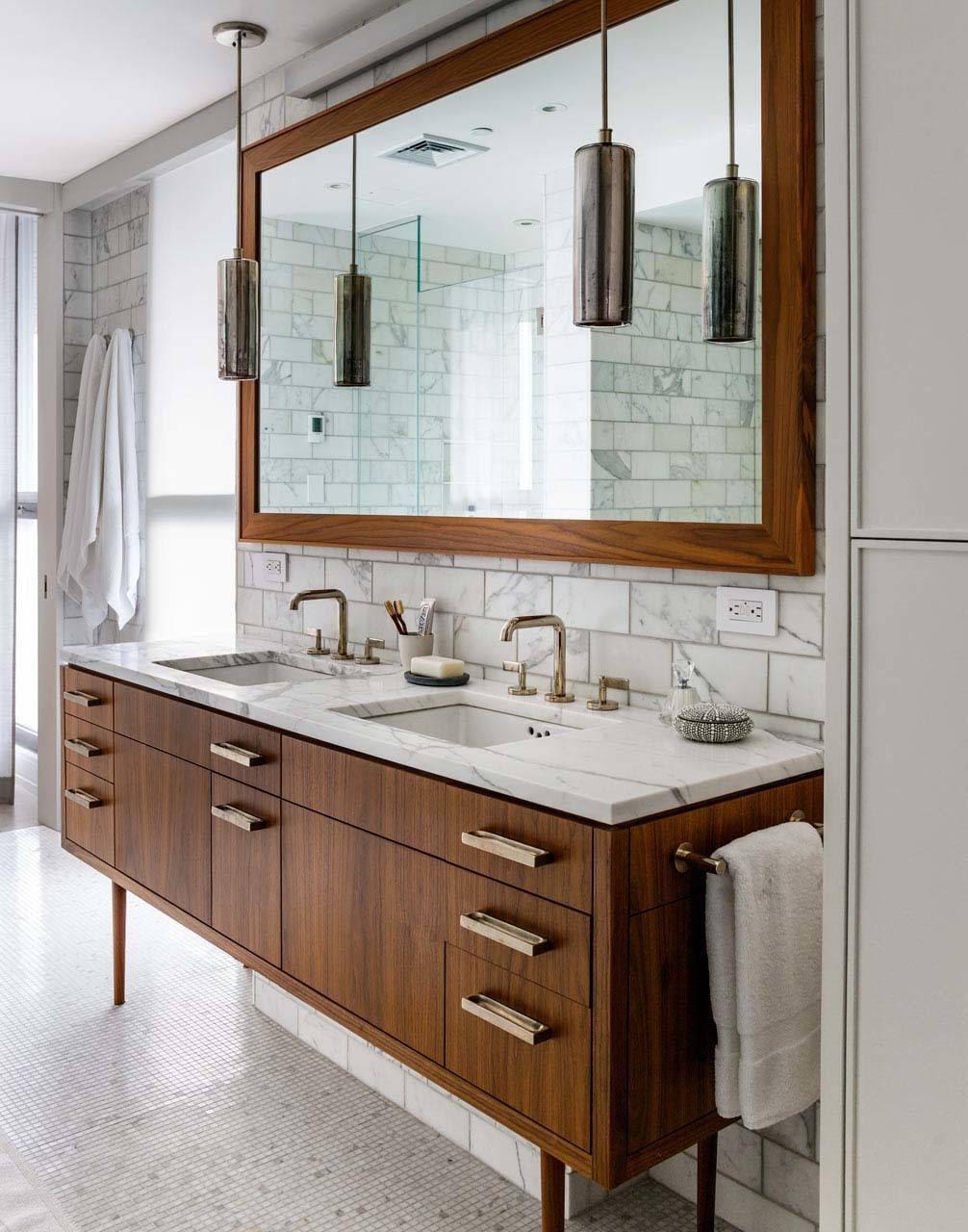 Mid Century Modern Bathroom Design Kristina Lynne