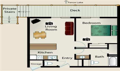 small  bedroom house floor plans simple small house
