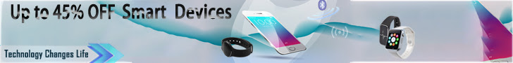 Up to 45% off for smartphones, bluetooth smart wearable, TV Box and accessories.