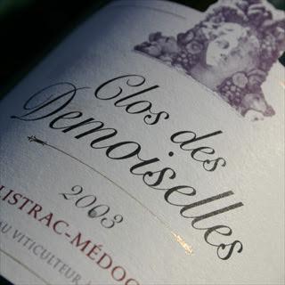 Clos des Demoiselles 2003