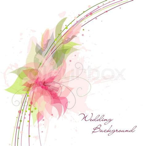 Romantic Flower Background Ideal for     Stock Vector
