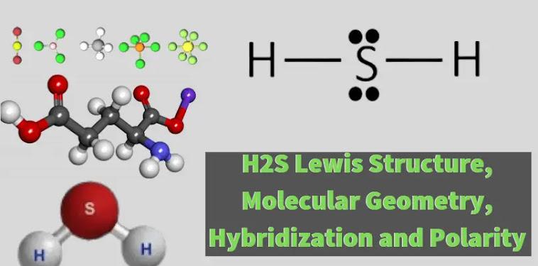 H2s Lewis Structure 3d