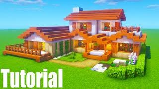 Minecraft Tutorial: How To Make A Acacia Suburban House ...