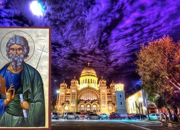 Η Ελλάδα « ΠΡΩΤΟΚΛΗΤΗ» στα βάσανα και τις δόξες σαν τον Απόστολο Ανδρέα.