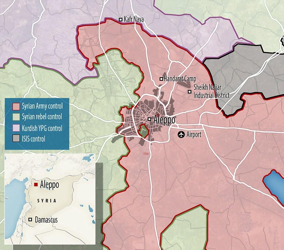 """tropas sírias estavam prontos para recapturar todos segunda cidade devastada pela guerra do país.  grupo de direitos Anistia Internacional descreveu a inação global durante o cerco como """"vergonhoso"""""""