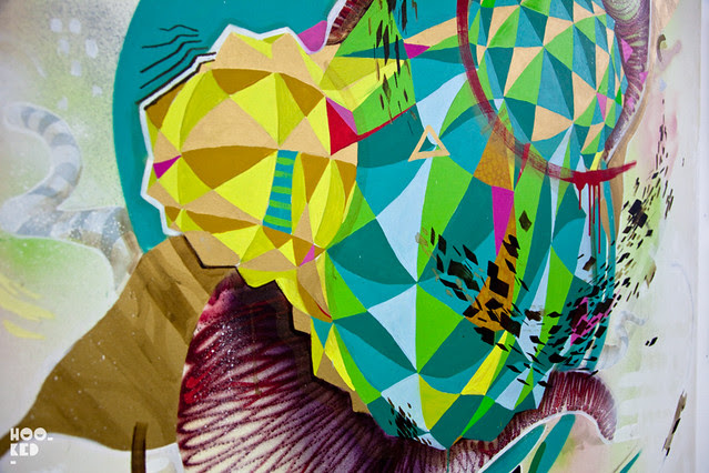 Graffitimundo's 'The Talking Walls of Buenos Aires' Shoreditch exhibition photos.