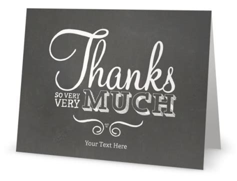 vistaprint thank you cards personalized   Custom Printing