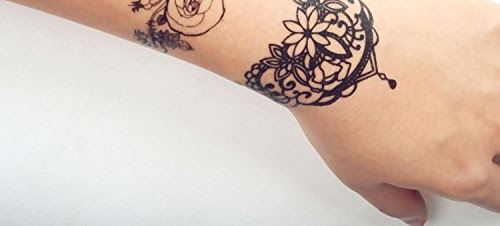 Flower Crown Tattoo