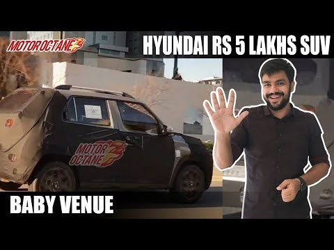 Hyundai Rs 5 lakh SUV for India - Launch in 2021