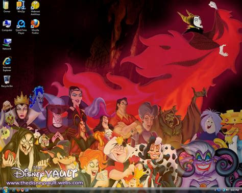 disney villains desktop  brinatello  deviantart