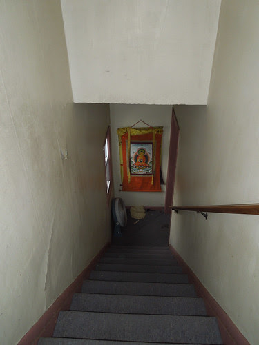 Blue House Stairs