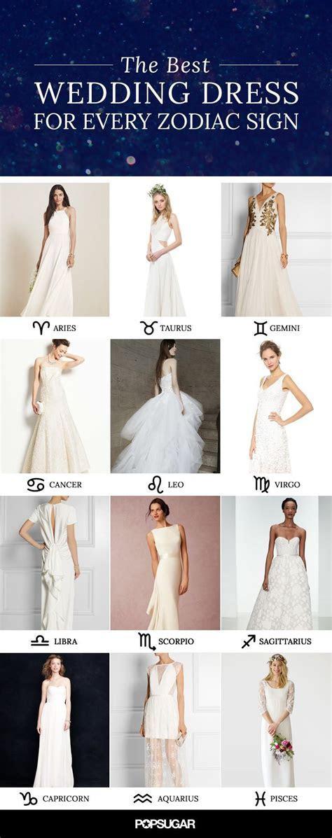 The Perfect Wedding Dress For Every Zodiac Sign   Zodiac