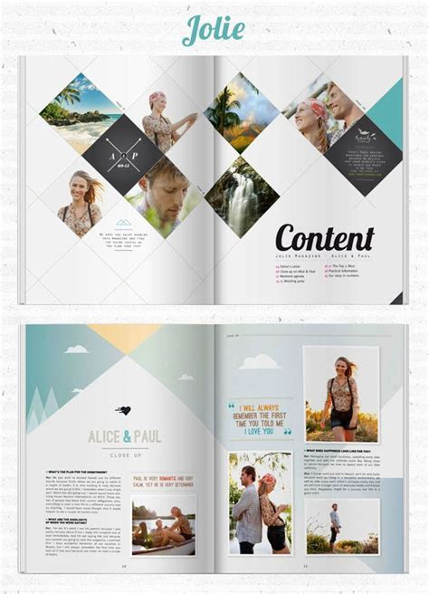 Create Your Own Wedding Magazine with Twenty Pages