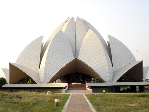 Lotus Temple in Delhi by Jagdish Yadav.