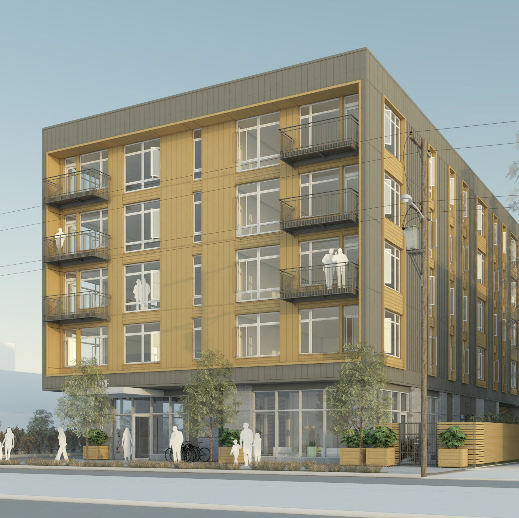 Apartments on Outer East Burnside approved by Design Commission