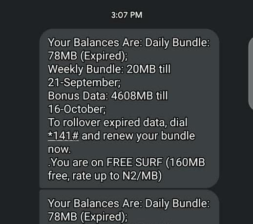 Wow!!! Get 23GB For #1000 And 4GB For #200 Only For Airtel Users.