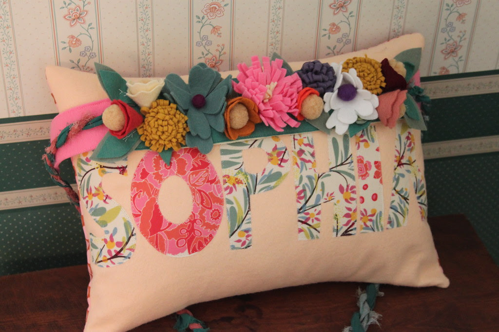 Sophia Pillow and Princess Flower Crown