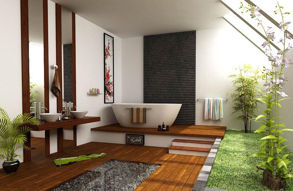 Zen Bathroominterior Design Ideas