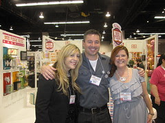 CHA Day 2! Me, Steve and Cathie!