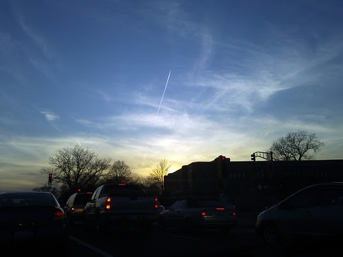 2010-03-22 18.43.54 Berwyn, IL sunset