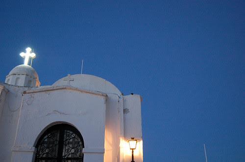 greece - athens - lykavittos church