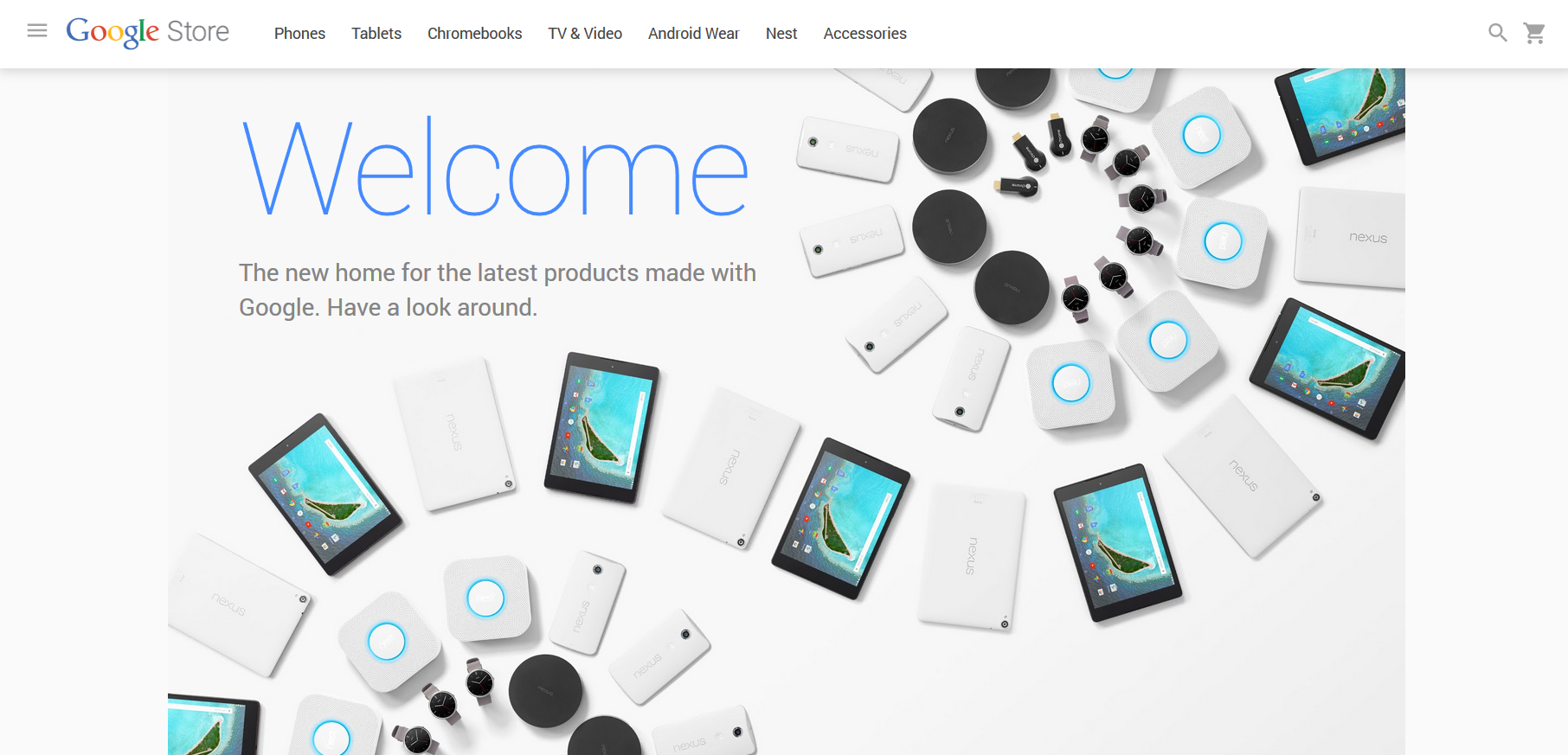 Say hello to the Google Store Google s awesome new online
