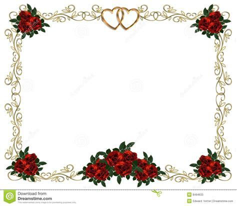 Flower Clipart For Wedding Invitations   Free download