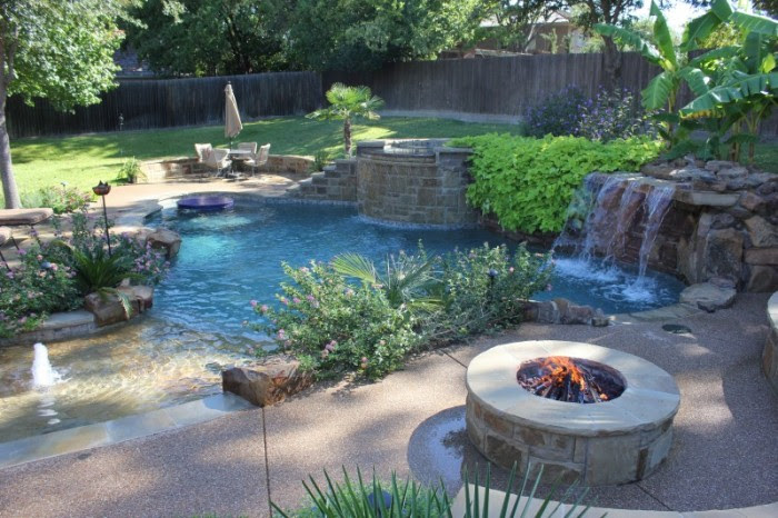 Pool Spa Construction Fort Worth Tx Luxury Pool Builders