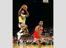 A.C.Green with Michael Jordan picture
