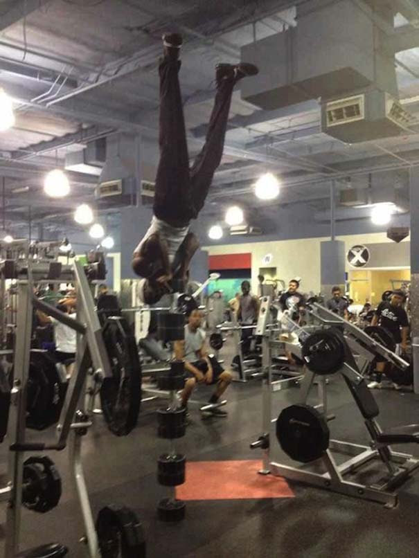 Απερίγραπτες στιγμές στο γυμναστήριο (1)